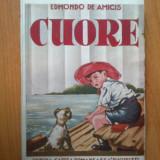 J Cuore - Edmondo de Amicis (tiparita in luna Noiembrie 1937) - Carte educativa