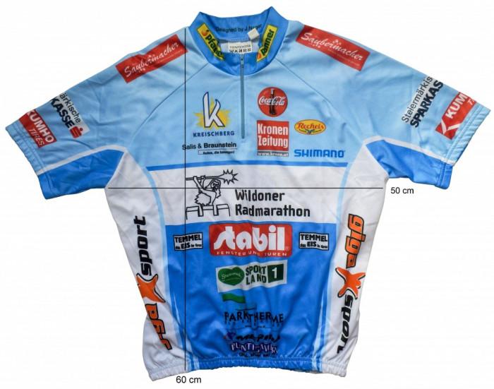 Tricou bicicleta ciclism GIGA SPORT logo SHIMANO tesatura fagure (S) cod-171982 foto mare