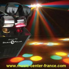 Scanner dublu lumina discoteca American Dj Double Roller - Lumini club