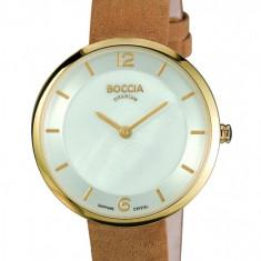 Ceas Boccia dama cod 3244-03 - pret 509 lei (marca germana, carcasa titan) - Ceas dama Boccia, Elegant, Quartz, Piele, Analog
