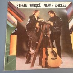 STEFAN HRUSCA & VASILE SEICARU - 1988/ELECTRECORD / VINIL/FOLK