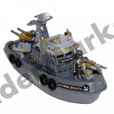 Marine Patrol Boat - Barca de jucarie cu lumini, sunete si motor - Jucarie interactiva