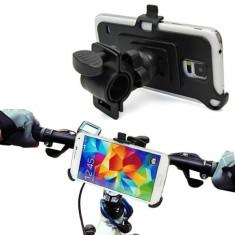 Suport moto bicicleta motocicleta Samsung Galaxy S5 G900 i9600 + folie ecran - Suport telefon bicicleta