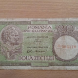 20 lei 1950  filigran 37 (VG)