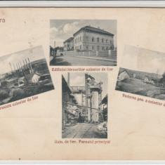 HUNEDOARA UZINA DE FIER, CIRCULATA JUL.*929 - Carte Postala Transilvania dupa 1918, Printata