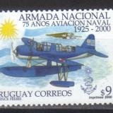 URUGUAY 2000,  Aviatie, serie neuzata, MNH