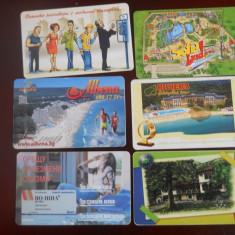 Cartele telefon Bulgaria 4267/8 - Cartela telefonica straina