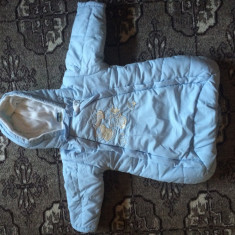 Salopeta de iarna din fas pt bebelusi, Culoare: Orange, Bleu, Unisex