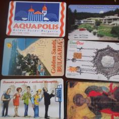 Cartele telefon Bulgaria 4245/6 - Cartela telefonica straina