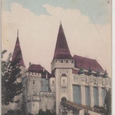 HUNEDOARA, CASTELUL HUNIAZILOR, CIRCULATA 1917 - Carte Postala Transilvania 1904-1918, Printata