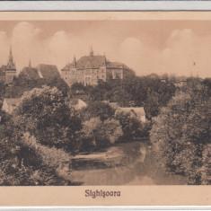 SIGHISOARA, VEDERE - Carte Postala Transilvania 1904-1918, Necirculata, Printata