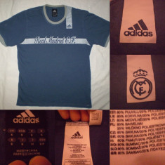 Tricou ADIDAS REAL MADRID barbati S- ultras casual polo munte outdoor - Tricou barbati, Marime: S, Culoare: Din imagine