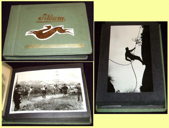 Album Orientare turistica 100 foto originale Turism Alpin, Alpinism Epoca de Aur