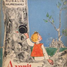 A VENIT UN COCOSTARC - Rusalin Muresanu - Carte poezie copii
