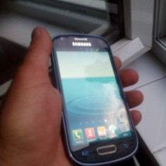 Samsung s 3 mini, codat Orange, poze reale! - Telefon mobil Samsung Galaxy S3 Mini, Albastru, 8GB