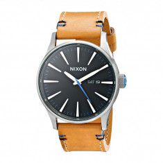 Ceas Nixon The Sentry Leather - The Naturel Collection | 100% original, import SUA, 10 zile lucratoare - Ceas barbatesc Nixon, Casual, Quartz
