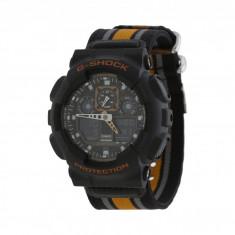 Ceas G-Shock GA100 Cloth   100% original, import SUA, 10 zile lucratoare - Ceas barbatesc Casio, Sport