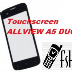 TOUCHSCREEN Touch Screen Geam Sticla Allview A5 DUO - Touchscreen telefon mobil, Allview A5 Smiley