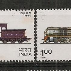 India.1976 Locomotive CD.121 - Timbre straine