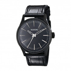 Ceas Nixon The Sentry 38 Leather | 100% original, import SUA, 10 zile lucratoare - Ceas barbatesc Nixon, Quartz