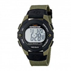 Ceas Timex Expedition Full-Size Digital Cat Nylon Strap Watch | 100% original, import SUA, 10 zile lucratoare - Ceas barbatesc Timex, Electronic