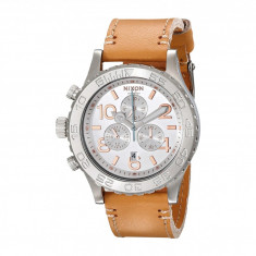 Ceas Nixon The 42-20 Chrono Leather - The Naturel Collection | 100% original, import SUA, 10 zile lucratoare - Ceas barbatesc Nixon, Casual, Quartz
