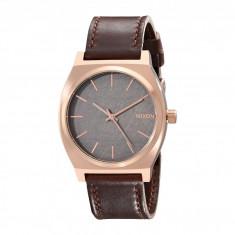 Ceas Nixon The Time Teller Leather   100% original, import SUA, 10 zile lucratoare - Ceas barbatesc Nixon, Quartz