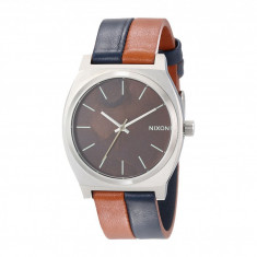 Ceas Nixon The Time Teller Leather | 100% original, import SUA, 10 zile lucratoare - Ceas barbatesc Nixon, Quartz