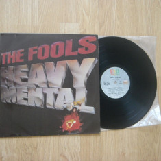 THE FOOLS: Heavy Mental (1981)(vinil pop rock, trupa americana, disc India) - Muzica Rock emi records