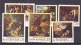 Romania ,vanatoare pictura   ,nr lista  741., Nestampilat