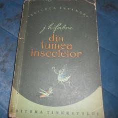 J. H. FABRE - DIN LUMEA INSECTELOR - Carte Zoologie