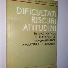 Dificultati, riscuri, atitudini in diagnosticul si tratamentul traumatismelor... - Carte Diagnostic si tratament