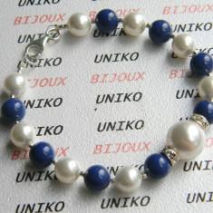 Bratara perle Swarovski (UNK SWBR-10) - Bratara Swarovski