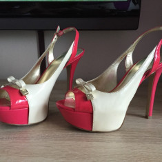 Pantofi dama Guess marime 37 - Pantof dama Guess, Culoare: Din imagine, Piele naturala
