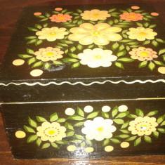 Caseta de bijuteri veche de lemn 2+1 GRATIS - Cutie Bijuterii