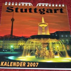 STUTTGART - CALENDAR (KALENDER) 2007 - Calendar colectie