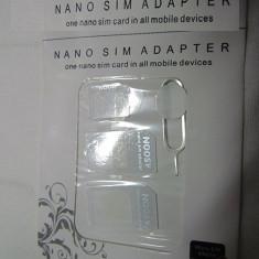 Set adaptor SIM nano sim -micro sim + cheie - Adaptor microsim Momax