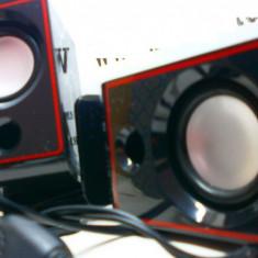 Boxe calculator cu volum control pe fir - Boxe PC, Canale : 2.1, 0-40W
