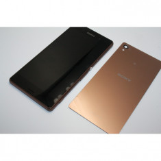 Display Sony Xperia Z3 gold swap touchscreen carcasa capac - Display LCD