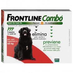 FRONTLINE COMBO XL, Peste 40kg - Caini