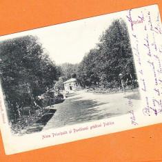 Berlad (Barlad, Vaslui) clasica, circulata, francata, rara, 1901 - Carte Postala Moldova pana la 1904, Fotografie