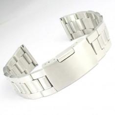 Bratara ceas 22mm curea ceas otel inxodabil curea ceas metal 22mm - Curea ceas din metal