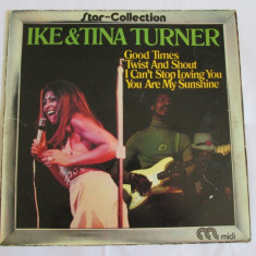 VINIL L.P. IKE & TINA TURNER STAR-COLLECTION GERMANY 1972 - Muzica R&B Altele
