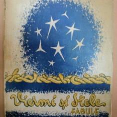 VIERMI SI STELE, FABULE de VASILE MILITARU, volumul II, editia II a revazuta de autor, 1936 - Carte veche