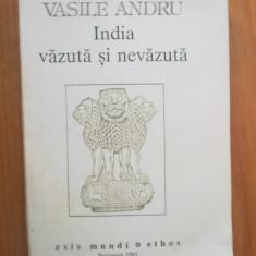 N7 India vazuta si nevazuta - Vasile Andru - Carti Hinduism