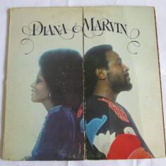 VINIL L.P. DIANA ROSS & MARVIN GAYE,MOTOWN HOLLYWOOD 1973