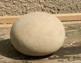 Piatra forma ovala interesanta decor