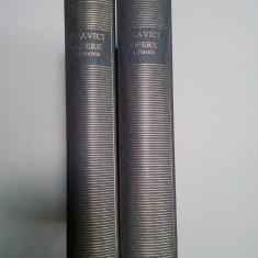 IOAN SLAVICI - OPERE 1+2 - NUVELE - editia Academiei - 2 volume - Carte de lux