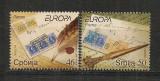 Serbia.2008 EUROPA-Scrisoarea   MS.388