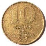 UNGARIA 10 FORINT 1989 **, Europa